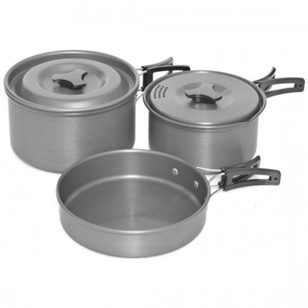 Trakker Armolife 3 Piece Cookware Set