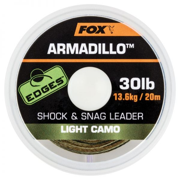 Fox Edges Armadillo Shock & Snag Leader