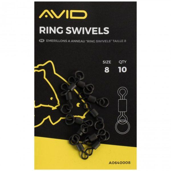 Avid Carp Ring Swivels
