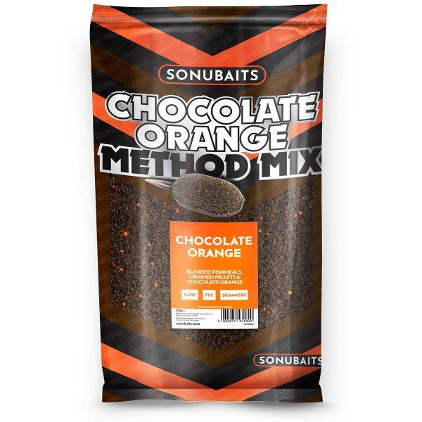Sonubaits Chocolate Orange Method Mix Groundbait