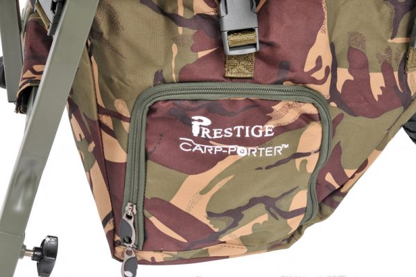 Prestige Carp Porter DPM Camo Middle Bag