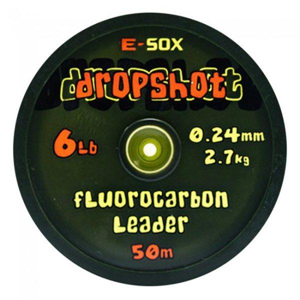 Drennan E-Sox Dropshot  Fluorocarbon Leader