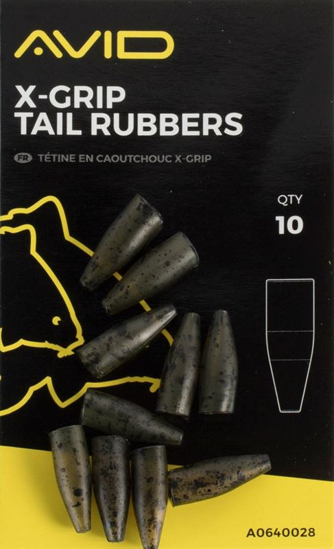 Avid Carp X-Grip Tail Rubber