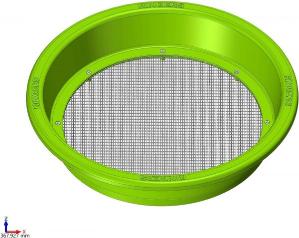 Ringers Round Bait Riddle - Green