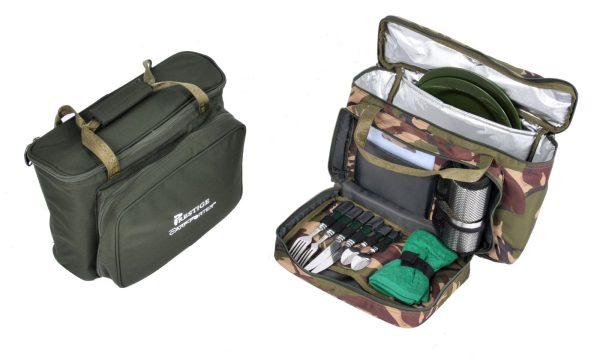 Prestige Carp Porter Modular Compact Food Bag - Green or Camo