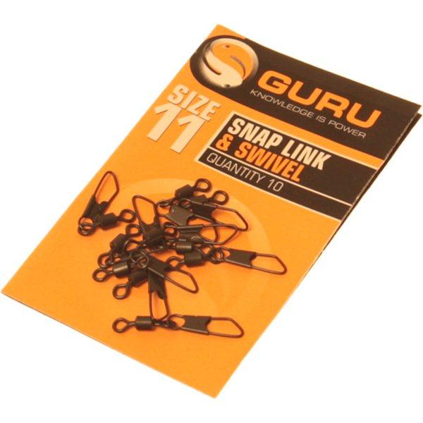 Guru Size 11 Snap Link + Swivel