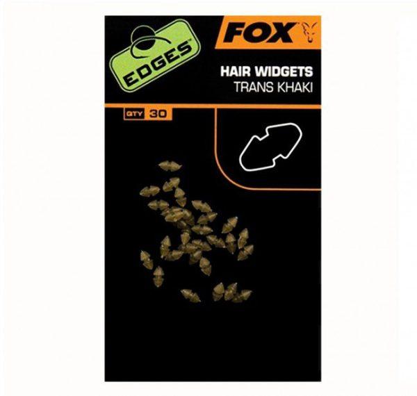 Fox Edges Trans Khaki Hair Widgets