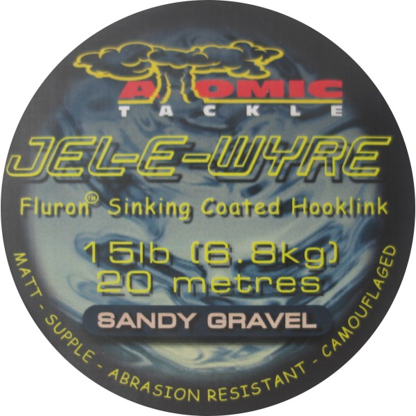 Atomic Tackle Jel-E-Wyre Coated Hooklink