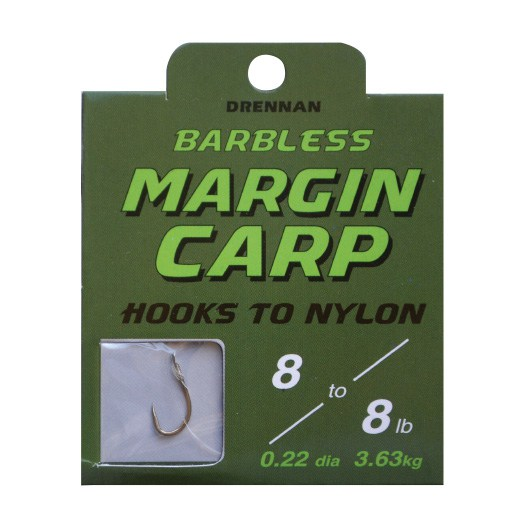 Drennan Spade Ends To Nylon - Barbless - Margin Carp