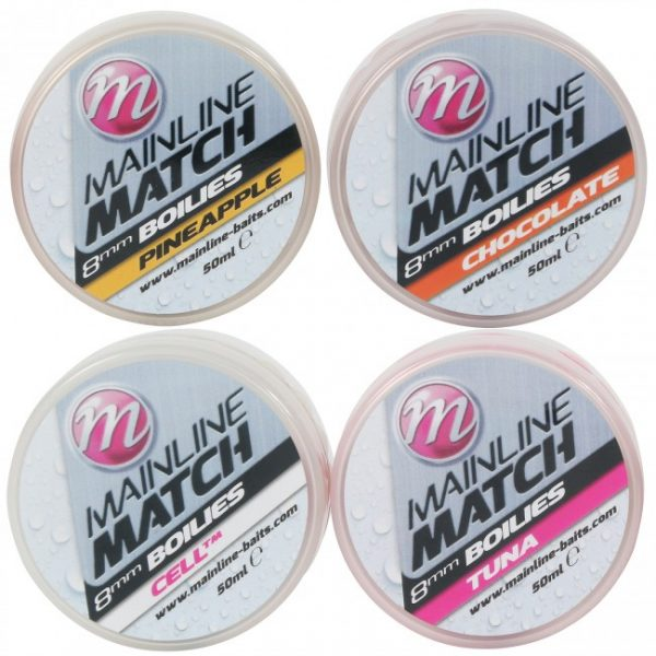 Mainline Match Boilies 8mm