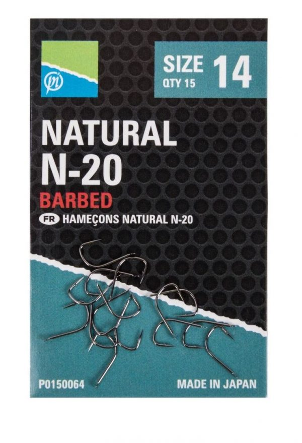 Preston Innovations Natural N20 Hooks