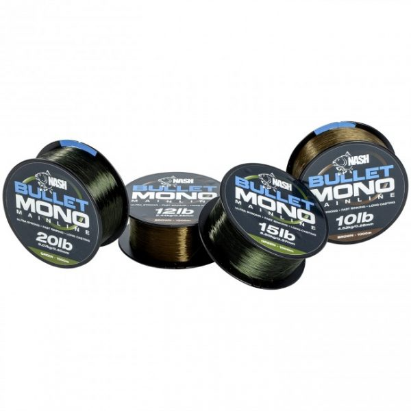 Nash Tackle Bullet Line 1000m Spool