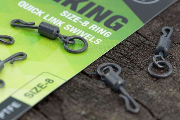 Thinking Anglers PTFE Ring Quick Link Swivels