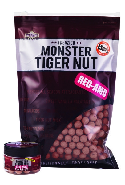Dynamite Baits Monster Tiger Nut Red Ammo Shelf Life Boilies