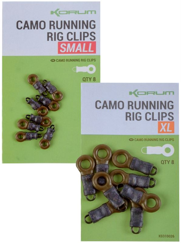 Korum Camo Running Rig Clips