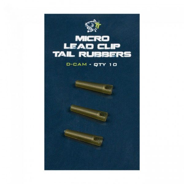 Nash Tackle Micro Lead Clip Tail Rubbers