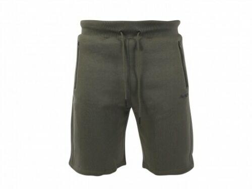 Avid Carp Green Jogger Shorts