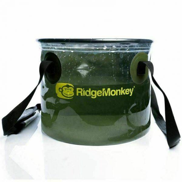 RidgeMonkey 10L Perspective Collapsible Water Bucket