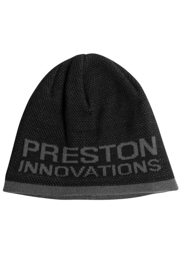 Preston Innovations Black / Grey Beanie Hat