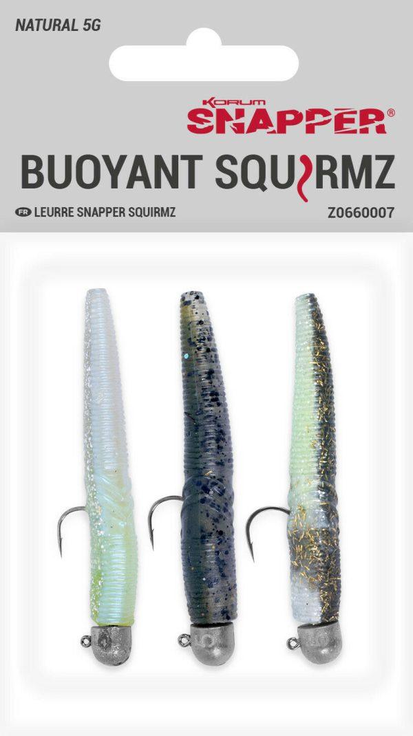 Korum Snapper Buoyant Squirmz