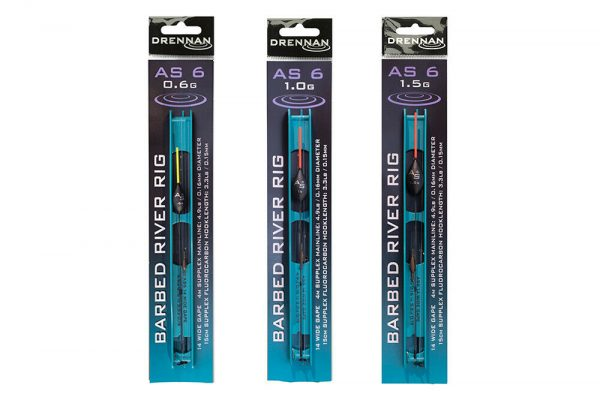 Drennan AS6 Barbed River Pole Rigs