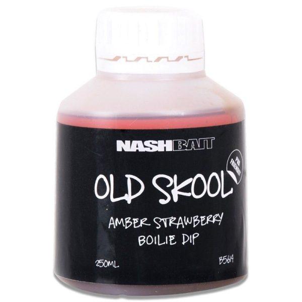 Nash Old Skool Amber Strawberry Boilie Dip