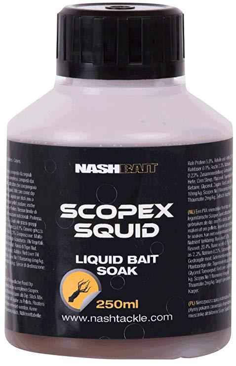 Nash Scopex Squid Liquid Bait Soak