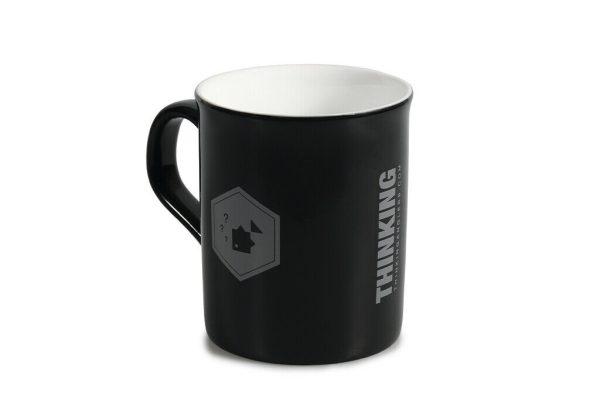 Thinking Anglers Gloss Black Mug